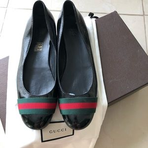 💯 AUTHENTIC GUCCI ballerina flats size 10